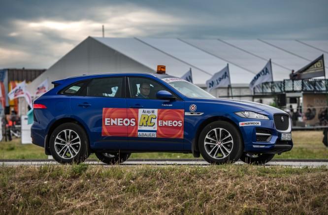"""""""Eneos 1006"""" išvakarėse – naktinis išbandymas su """"Jaguar F-Pace"""""""
