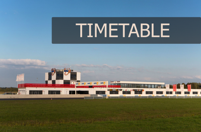 New preliminary timetable is announced