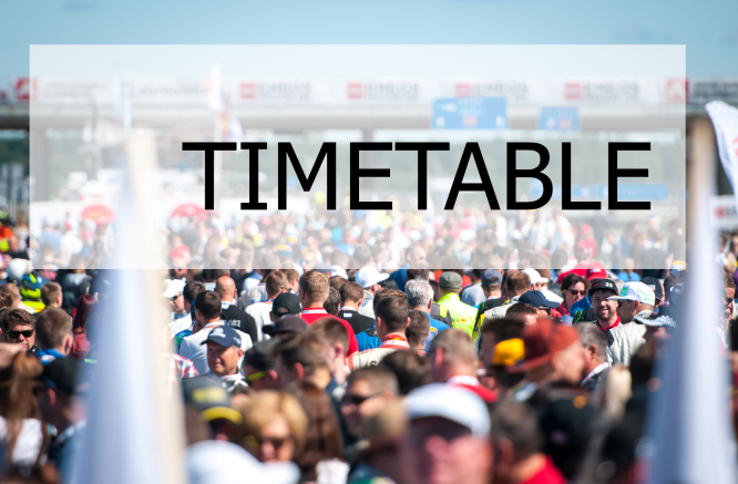 New timetable is here!
