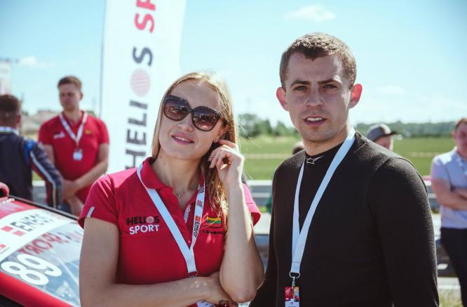 Indrė Senkutė lenktynėse atrado ir vyrą