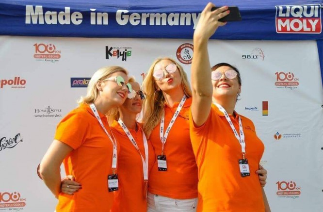 """""""108 km Moterų iššūkio"""" komanda: Power Girls"""