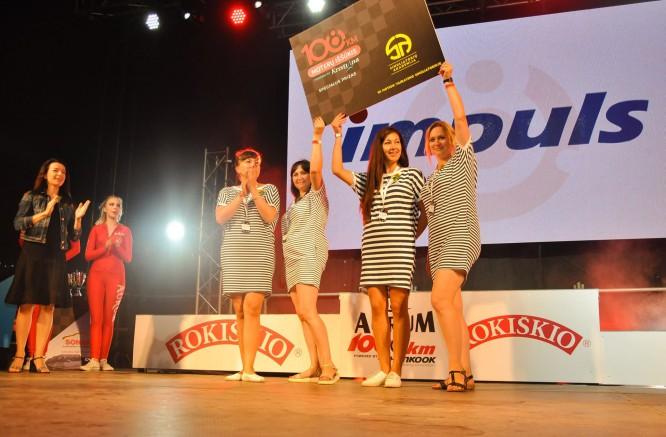 """""""108 km Moterų iššūkio"""" komanda: Auresa"""