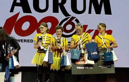 """""""108 km moterų iššūkio"""" komanda: sėlinančios vapsvos"""