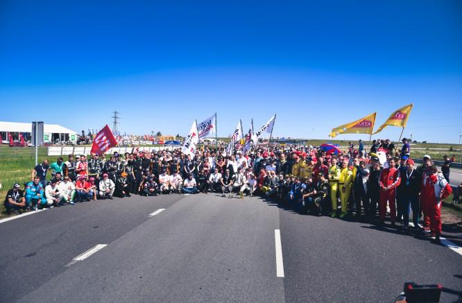 """The start of 20th """"Aurum 1006 km race"""" in Palanga"""
