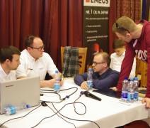 """""""Promo Events"""" organizuojantys - """"ENEOS 1006km"""", kartu su oficialiais ir įgaliotaisiais """"Hankook"""" atstovais Baltijos šalyse, bendrove """"Juta"""", Kaune surengė nemokamą seminarą."""