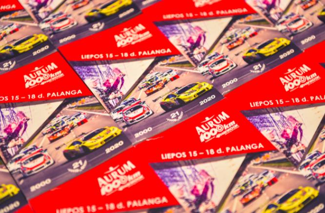 Šiais metais  Aurum 1006 km lenktynių knygelė prieinama visiems žiūrovams
