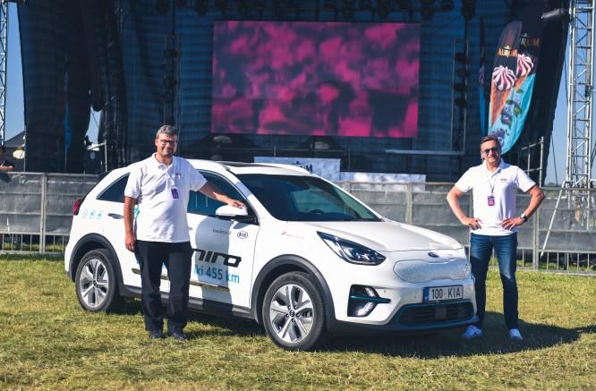 Naujas rekordas : elektromobiliu aplink Lietuvą per 22 valandas