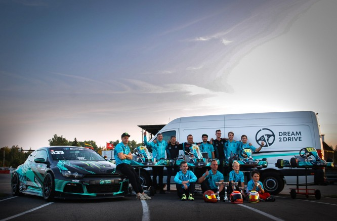 Dream 2 Drive team is preparing for Aurum 1006 km race