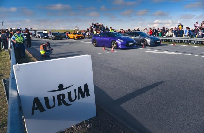 """""""Aurum 1006 km powered by Hankook"""" praturtins ir jubiliejinės, 15-osios drag'o varžybos"""