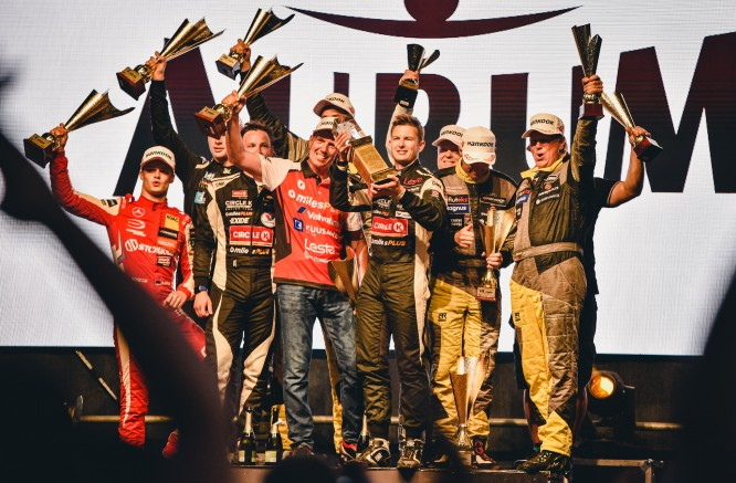 """Trečioji """"Circle K milesPlus Racing Team"""" pergalė paeiliui"""